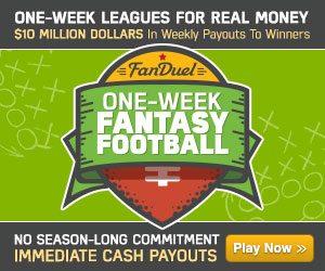 FanDuel Weekly Freerolls