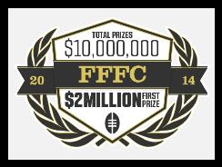 FanDuel's 2014 FFFC Winning Lineup