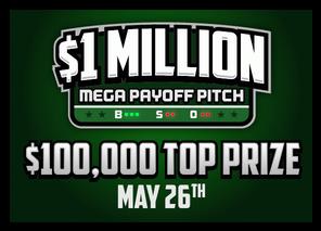 DraftKings MLB $1 Million MEGA Payoff Pitch