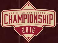 FanDuel $1.5 Million World Fantasy Baseball Championship 2016