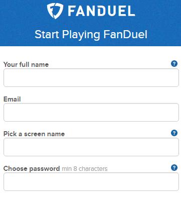 FanDuel Sign Up