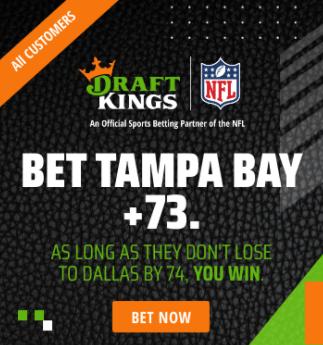 DraftKings No Brainer Bet Week 1